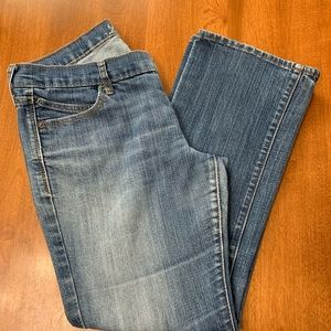 WELL WORN OLD NAVY DIVA BOOT CUT JEANS- Sz. 12